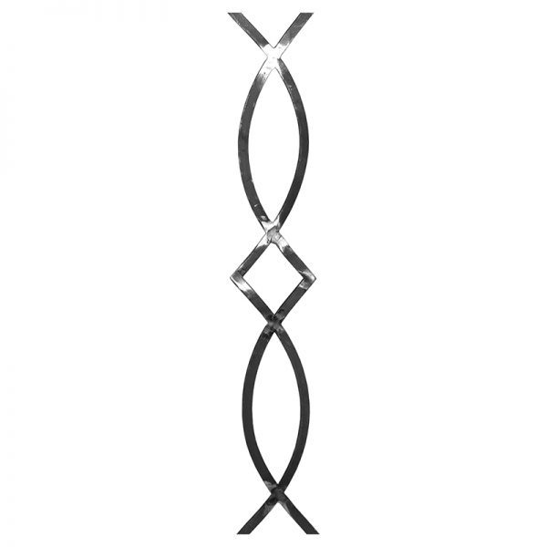 "FS0210 STEEL PANEL 4"" x 24"""