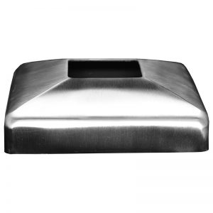 SSZC1004004S SQUARE FLANGE COVER 110 x 30mm FOR SSZC0404004S (SS304)
