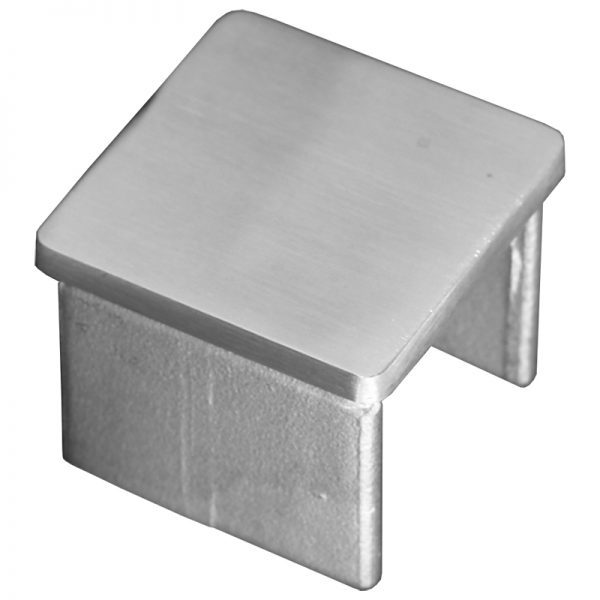 SSUTSQ040001 SQUARE CAP RAIL END CAP FOR 40 x 40mm HANDRAIL