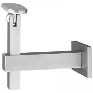 "SSZH0030104S 3 1/2"" SWIVEL SQUARE WALL BRACKET"