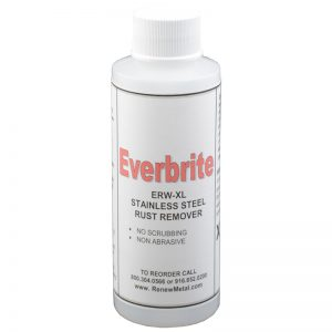 SSEVACC5 EVERBRITE STAINLESS STEEL RUST REMOVER 8 OZ. BOTTLE