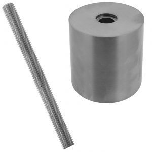 """ST22F4S  SPACER 2"""" x 2"""" (FLAT) - SS304"""