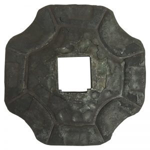 """28104 FORGED BASE PLATE WITH 17mm SQ. HOLE 3"""" x 3"""""""