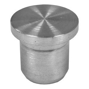 """SSEP0090104S FLAT END CAP FOR 1/2"""" TUBING (SS304)"""