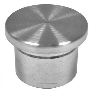 """SSEP0090604S FLAT END CAP FOR 5/8"""" TUBING (SS304)"""