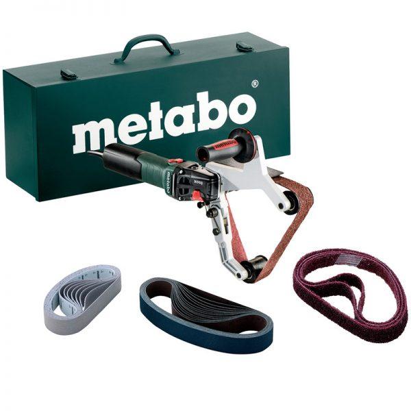 602243620 METABO RBE15-180 SET TUBE/PIPE BELT SANDER