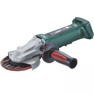 613070860PMO METABO WPF18 LTX125 CORDLESS FLAT-HEAD ANGLE GRINDER