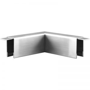 SSUT0220107S SQUARE CHANNEL 90° ELBOW 99.5 x 21.5mm