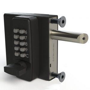 "DGL01 GATEMASTER SELECT PRO DIGITAL GATE LOCK FOR 1/2"" TO 1 1/4"" GATE FRAMES (DOUBLE COMBINATION)"