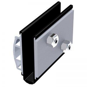 SSSM3GRIPS GLASS GRIPS FOR TILT-LOCK™ ADJUSTABLE TOP OR SIDE MOUNT BASE SHOE (SSSM3 SERIES)