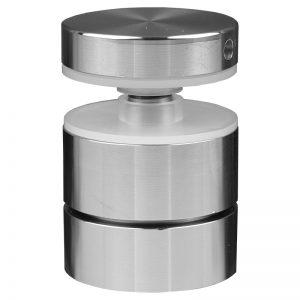 "SSASF112114 mlevel ADJUSTABLE ROUND STANDOFF FLAT CAP 1 1/2"" x 1 1/4"" (SS304)"