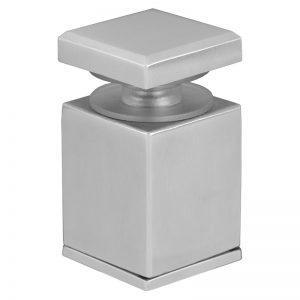 "SSASSQR mlevel ADJUSTABLE SQUARE STANDOFF FLAT CAP 1 1/2"" x 1 1/2"" (DUPLEX 2205)"