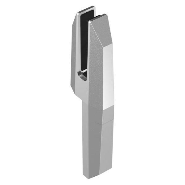 SSSPIGOTEDGE TILT-LOCK™ ADJUSTABLE EDGE MOUNT SPIGOT 82 x 42 x 310mm - SATIN FINISH