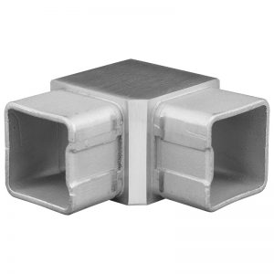 SSZE0404004S 90-DEGREE SQUARE ELBOW FOR 40mm HANDRAIL (SS304)
