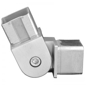 SSZE1404004S 90-DEGREE FLEXIBLE SQUARE ELBOW FOR 40mm HANDRAIL (SS304)