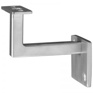 "SSZH0070100S 2 1/2"" 2-HOLE FIXED SQUARE WALL BRACKET"