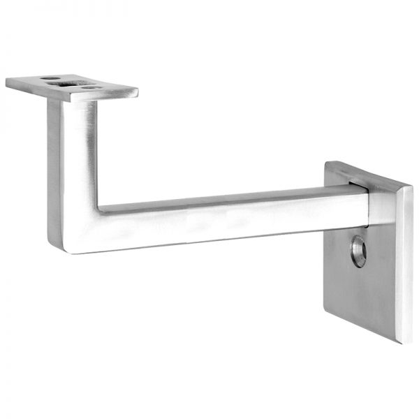 """SSZH0072104S 3 1/2"""" 1-HOLE FIXED SQUARE WALL BRACKET"""