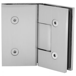 SSSFH135BN STANDARD HINGE FOR GLASS TO GLASS AT 135° - BRUSHED NICKEL