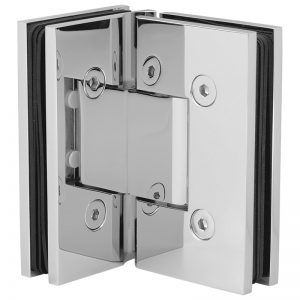 SSSFH90CP STANDARD HINGE FOR GLASS TO GLASS AT 90° - CHROME