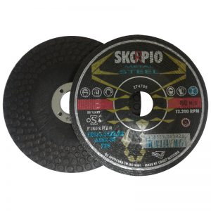 "FW518 5"" x 1/8"" x 7/8"" SKORPIO FINISHER WHEEL DEPRESSED"