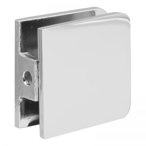 SSSFGCW1CP GLASS CONNECTOR FOR GLASS TO WALL (1-HOLE) - CHROME
