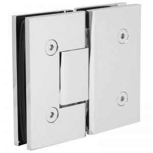 SSSFH180CP STANDARD HINGE FOR GLASS TO GLASS AT 180° - CHROME