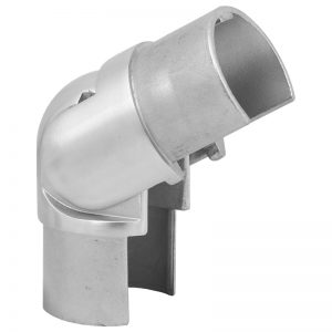 SSUTRND4242 ROUND CAP RAIL SWIVEL VERTICAL ELBOW FOR 42.4 x 1.5mm HANDRAIL