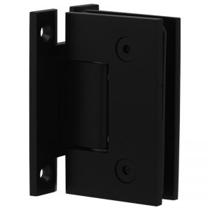 SSSFHWHB STANDARD HINGE H-CLIP FOR GLASS TO WALL - SATIN BLACK