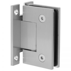 SSSFHWHBN STANDARD HINGE H-CLIP FOR GLASS TO WALL - BRUSHED NICKEL