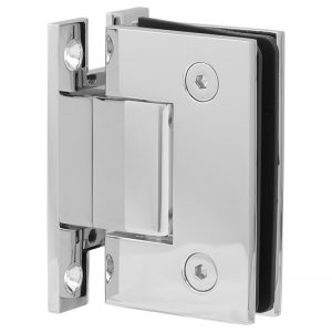 SSSFHWHCP STANDARD HINGE H-CLIP FOR GLASS TO WALL - CHROME