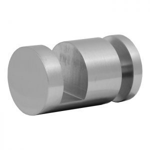 SSSFDTRNDBN OFF-THE-GLASS ROUND TOWEL HOLDER 25mm DIA. x 33mm - BRUSHED NICKEL
