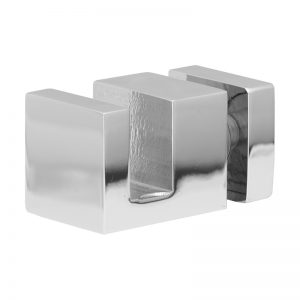 SSSFDTSQRCP OFF-THE-GLASS SQUARE TOWEL HOLDER 25 x 33mm - CHROME
